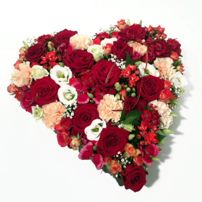 Lilledest süda punane