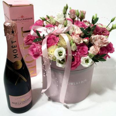 Lilledega karp ja Moet Rose